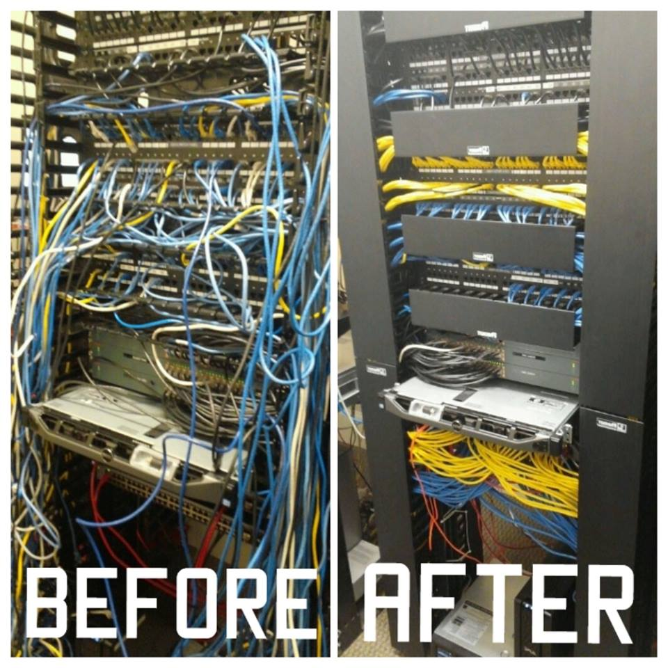 before and after cable drop katy tx