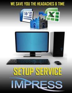 pc or laptop setup katy tx