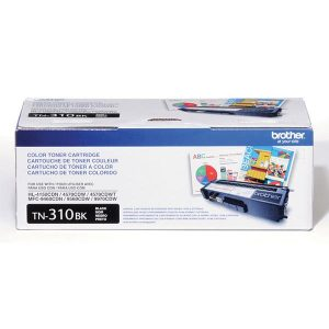 Brother TN310BK BLACK Brother HL-4150CDN, 4570CDW, 4570CDWT, MFC-9460CDN, 9560CDW Black Toner Cartridge