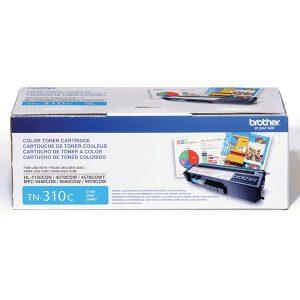 Brother TN310C CYAN HL-4150CDN, 4570CDW, 4570CDWT, MFC-9460CDN, 9560CDW Cyan Toner Cartridge