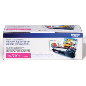 Brother TN310M MAGENTA HL-4150CDN, 4570CDW, 4570CDWT, MFC-9460CDN, 9560CDW Magenta Toner Cartridge