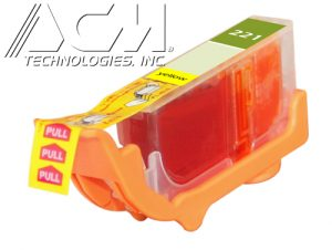COMPATIBLE CANON CLI-221Y (2949B001) INKJET CTG, YELLOW, 420 YIELD