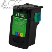 REMAN CANON CLI-211XL (2975B001) INKJET CTG, COLOR, 349 HIGH YIELD, TRI-COLOR