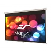 Elite Screens Manual Projection Screen 84″ Ceiling Drop