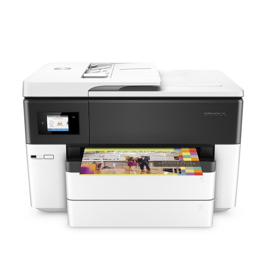 HP Officejet Pro 7740 Wide Format All-in-1 Color Printer WL