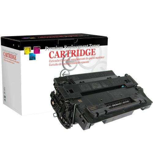 HP Reman CE255x Black Cartridge P3015 12.5k Canon 324ii T