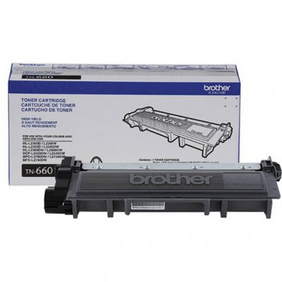 High Yield Black OEM Laser Toner Cartridge for Brother TN660