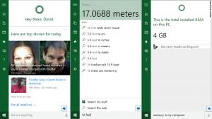 Windows 10 -Cortana