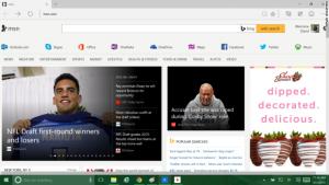 Windows 10 - Microsoft Edge