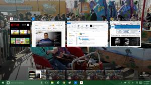 Windows 10 - multitasking