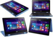Acer Aspire 2in1 Laptop 500GB HDD 4GB Ram Win10 Wifi BT Webc