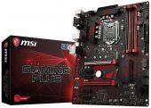 MSI Z370 Gaming Plus LGA1151 4DDR4 64MAX VGA DP DVI USB3.1