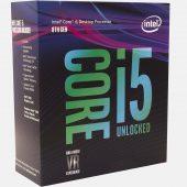 Intel CPU i5-8600K LGA1151 3.6Ghz 6-Core 9MB OC Coffee Lake