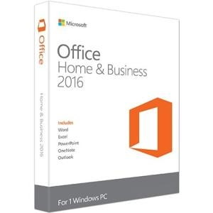 Microsoft Office 2016 Home & Business - Box Pack - 1 License
