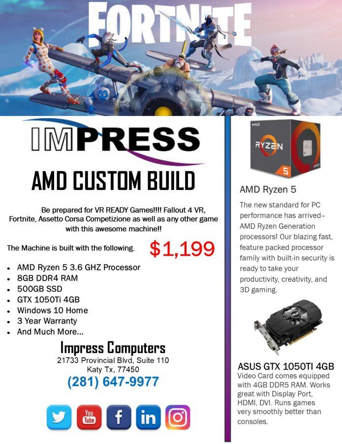 Custom Built AMD