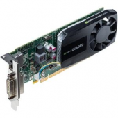 PNY Quadro K620 Graphic Card - 2 GB GDDR3 - Low-profile - Single Slot Space Required - 128 bit Bus Width - 3840 x 2160 - Fan Cooler - DirectCompute, OpenCL, DirectX 11.2, OpenGL 4.5 - 1 x DisplayPort - 1 x Total Number of DVI - 4 x Monitors Supported - Dual Link DVI Supported DVI DP LP