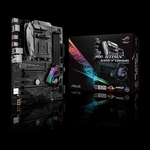 ASUS ROG STRIX B350-F GAMING AM4 4DDR4 64MAX M.2 DP HDMI