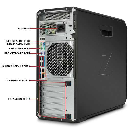 hp autocad ready hp z4 g4 workstation xeon w 2123. Black Bedroom Furniture Sets. Home Design Ideas