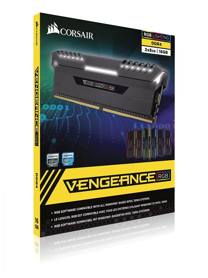 Corsair Vengeance 32GB (2x16) DDR4 PC4-24000 3000MHz 288Pin
