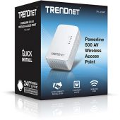 TRENDnet TPL-410AP Ethernet Over Power WAP 500AV + Wifi