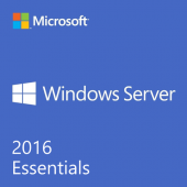 Microsoft Windows Server 2016 Essentials - License and Media- 25 user, 1 Server, 2 CPU - DVD-ROM - English - PC 1PK DSP OEI DVD 1-2CPU KIT SKU