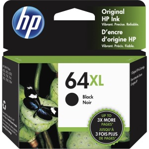 HP 64XL OEM Black High Capacity Ink Cartridge N9J92AN 600pg