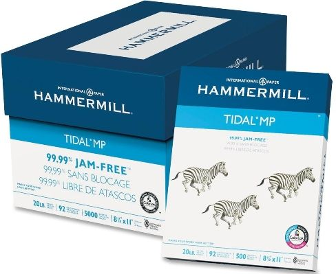 Hammermill® Paper, Copy Plus, Letter Size Paper, 20 Lb, Ream Of 500 Sheets