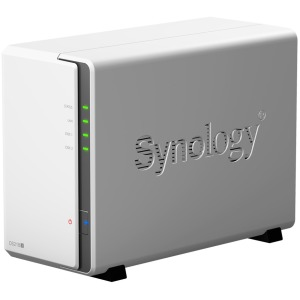 Synology DS218J 2 Bay Desktop NAS Enclosure GBE USB3.0