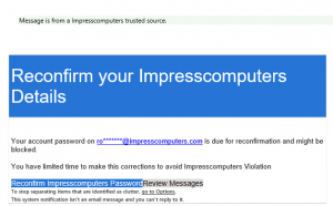 Scam Emails on the Increase - What to look out for and what to do