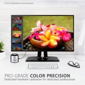 "ViewSonic VP2468 professional 24"" Frameless IPS Full HD 1080p Monitor HDMI, DisplayPort, DaisyChain"