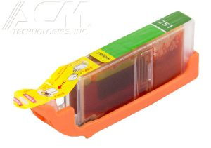 COMPATIBLE CANON CLI-251Y (6451B001) INKJET CTG, YELLOW, 400 HIGH YIELD