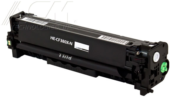 COMPATIBLE HEWLETT PACKARD HP 312X (CF380X) TONER CTG, BLACK, 4.4K HIGH YIELD