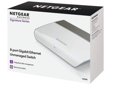 NETGEAR GS908 Unmanaged 8-Port Gigabit Desktop Switch