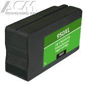 REMAN HEWLETT PACKARD 950XL (CN045AN) INKJET CTG, BLACK, 2.3K HIGH YIELD, READ INK LEVEL