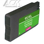 REMAN HEWLETT PACKARD 951XL (CN047AN) INKJET CTG, MAGENTA, 1.5K HIGH YIELD, READ INK LEVEL