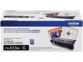 Brother TN433BK Original Toner Cartridge - Black - Laser - High Yield - 4500 Pages - 1 Each MFCL8610CDW L8900CDW