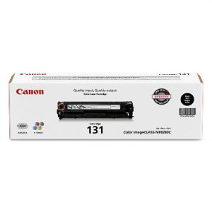 Canon (CRG-131BK) Black Toner Cartridge (1,400 Yield)