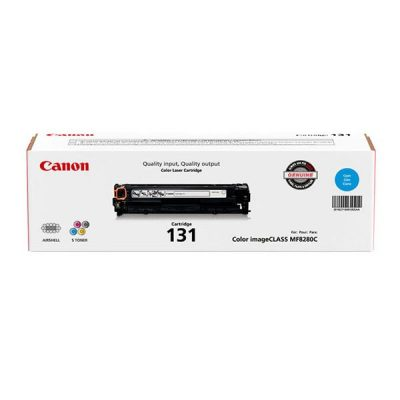 Canon (CRG-131C) Cyan Toner Cartridge (1,500 Yield)