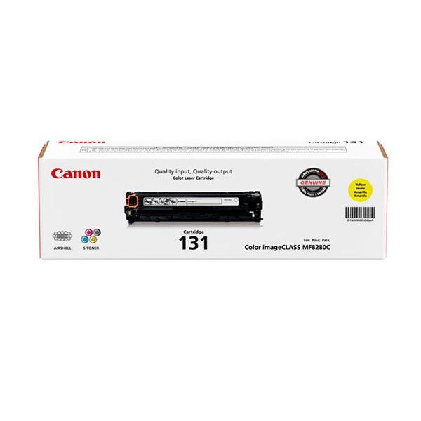 Canon (CRG-131Y) Yellow Toner Cartridge (1,500 Yield)