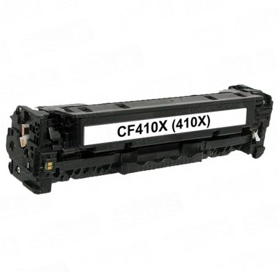HP 410X (CF410X) High Yield Black Compatible Toner - Prints 6,500 Pages