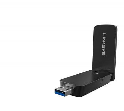 Linksys MAX-STREAM AC1200 MU-MIMO Wireless USB Adapter (WUSB6400M)