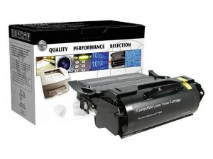 exmark Compatible T650 High Yield Toner (OEM# Lexmark T650A41G T650H21A T650H11A T650H04A) 25,000 page yield; Black