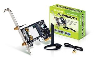 te GC-WB867D-I REV Bluetooth 4.2/Wireless AC/B/G/N Band Dual Frequency 2.4Ghz/5.8Ghz Expansion Card