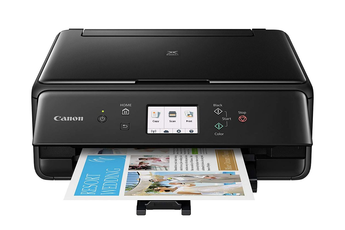 32eaa4324062 Canon TS6120 Wireless All-In-One Printer with Scanner and Copier ...