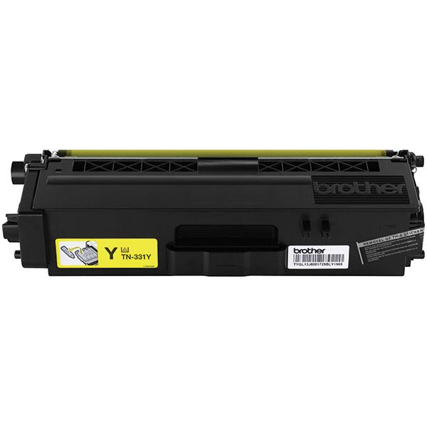 Brother Genuine TN336Y High Yield Yellow Toner Cartridge - Laser - High Yield - 3500 Pages - Yellow - 1 Each FOR HLL8250CDN 8350CDW 8350CDWT
