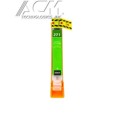 COMPATIBLE CANON CLI-271XLBK (0336C001) INKJET CTG, BLACK, 300 HIGH YIELD