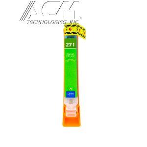 COMPATIBLE CANON CLI-271XLC (0337C001) INKJET CTG, CYAN, 300 HIGH YIELD