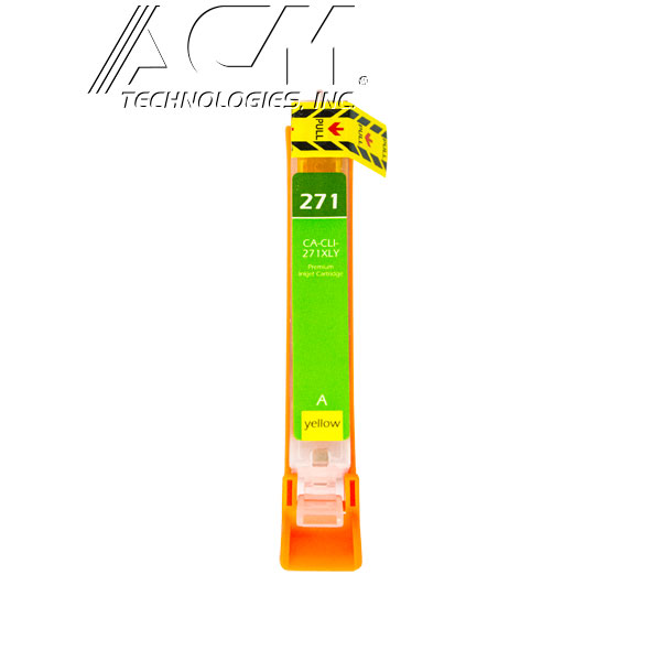 COMPATIBLE CANON CLI-271XLY (0339C001) INKJET CTG, YELLOW, 300 HIGH YIELD