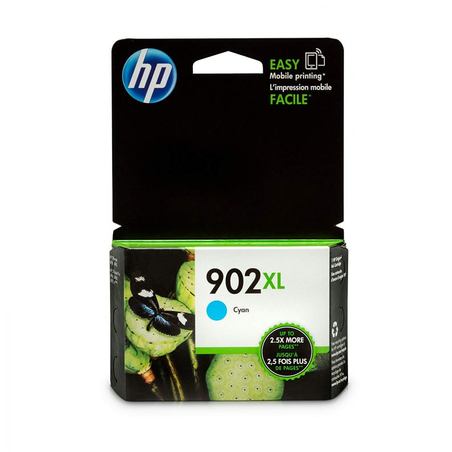 HP 902XL High-Yield Cyan Ink Cartridge (T6M02AN#140)
