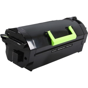 Remanufactured High Yield Toner Cartridge for Lexmark Compliant MS710/MS711/MS810/MX710/MX810/MX811 - 25000 page yield - Laser - High Yield - 25000 Pages REPLACES LEXMARK 52D1H0E